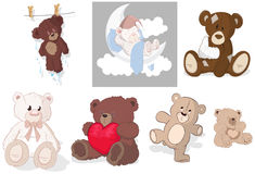 Teddy Bear Vectors Stock Photo