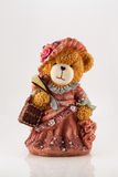 Teddy bear on white Stock Photo