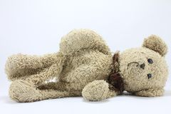 Teddy Bear. On a white background Royalty Free Stock Photos