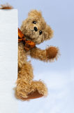 Teddy Bear: You Are Welcome! Stock Photography