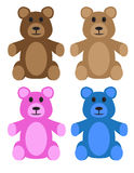 Teddy Bears Illustration Libre de Droits