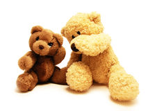 Teddy bears friends Royalty Free Stock Photography