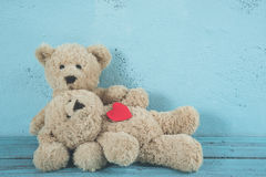Teddy bears love Royalty Free Stock Images