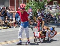 Teddy Bears Love una cittadina Immagine Stock Libera da Diritti