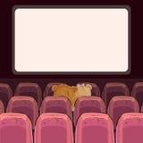 Teddy Bears observent un film Image libre de droits
