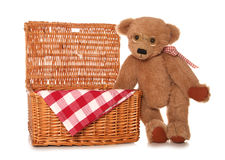 Teddy bears picnic Royalty Free Stock Photos