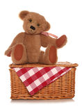 Teddy bears picnic Royalty Free Stock Image