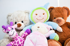 Teddy bears stock photo