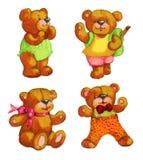 Teddy bears Stock Image