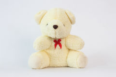 Teddy bears on a white background. Stock Photography