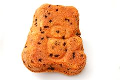 A teddy cake Royalty Free Stock Images