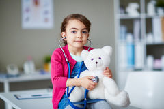 Teddy doctor Royalty Free Stock Photography