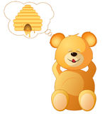 Teddy dreams Stock Photo