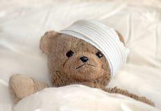 Teddy in het ziekenhuis