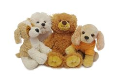 Teddy and his friends Stock Images