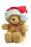 Teddy kerstman royalty-vrije stock foto's