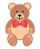 Teddy met band Stock Afbeelding