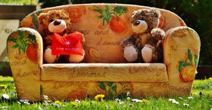 Teddy, Mother'S Day, Love, Mama Royalty Free Stock Photography