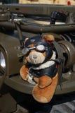 Teddy Pilot Bear Imagenes de archivo