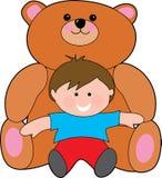 Teddy reus vector illustratie
