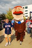 Teddy Roosevelt Washington Nationals Park arkivbilder