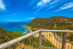 Teddy's Lookout on Great Ocean Road Royalty Free Stock Photos