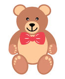 Teddy with tie Stock Image