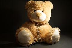 Teddy Tied stockbilder