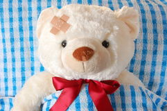 Teddy zieken stock afbeelding