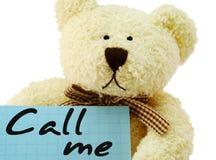 Teddybär Benennen Lizenzfreies Stockfoto