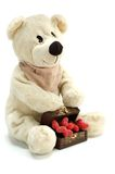Teddybär in der Liebe Lizenzfreie Stockfotografie