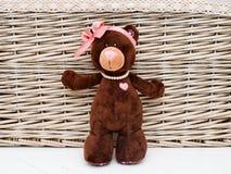 Teddybär in der Liebe Stockfotos