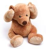 Teddybär in einer Sorge lizenzfreie stockfotos