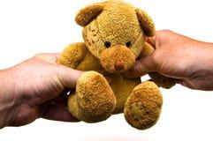 Teddybär-Geschenk Lizenzfreies Stockbild