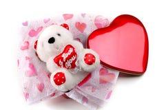Teddybär-Geschenk lizenzfreie stockfotografie