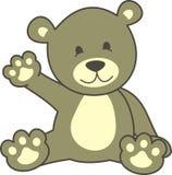 Teddybär h Lizenzfreies Stockbild