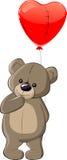 Teddybär mit Liebe Stockfoto
