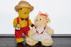 Teddybär Morulet in der Liebe Lizenzfreies Stockbild