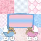 Teddybär-Paare Stockfoto