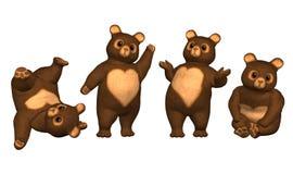 Teddybär-trägt Stockfoto