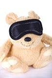 Teddybär-tragen Sie mit Verband Stockfotos