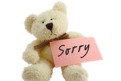 Teddybär - traurig Lizenzfreie Stockfotografie