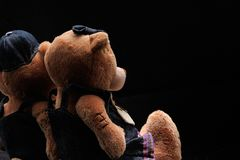 Teddybären stockbild