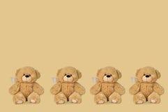 Teddybären mit Änderungen am Objektprogramm lizenzfreie stockbilder