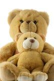 Teddybärfamilie Stockbild