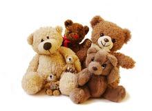 Teddybärfamilie Lizenzfreie Stockfotografie