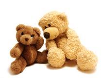 Teddybärfreunde Stockbilder