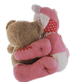 Teddybärfreunde lizenzfreie stockfotos