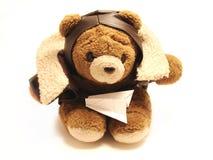 Teddybärpilot Lizenzfreie Stockbilder
