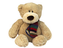 Teddybärsitzen Lizenzfreies Stockfoto